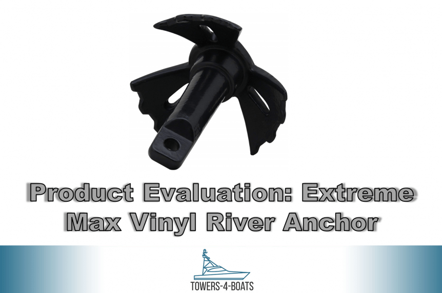 Product Evaluation Extreme Max Boattector Vinyl – Coated River Anchor