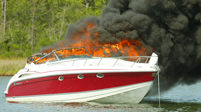 Boat Fire Extinguisher
