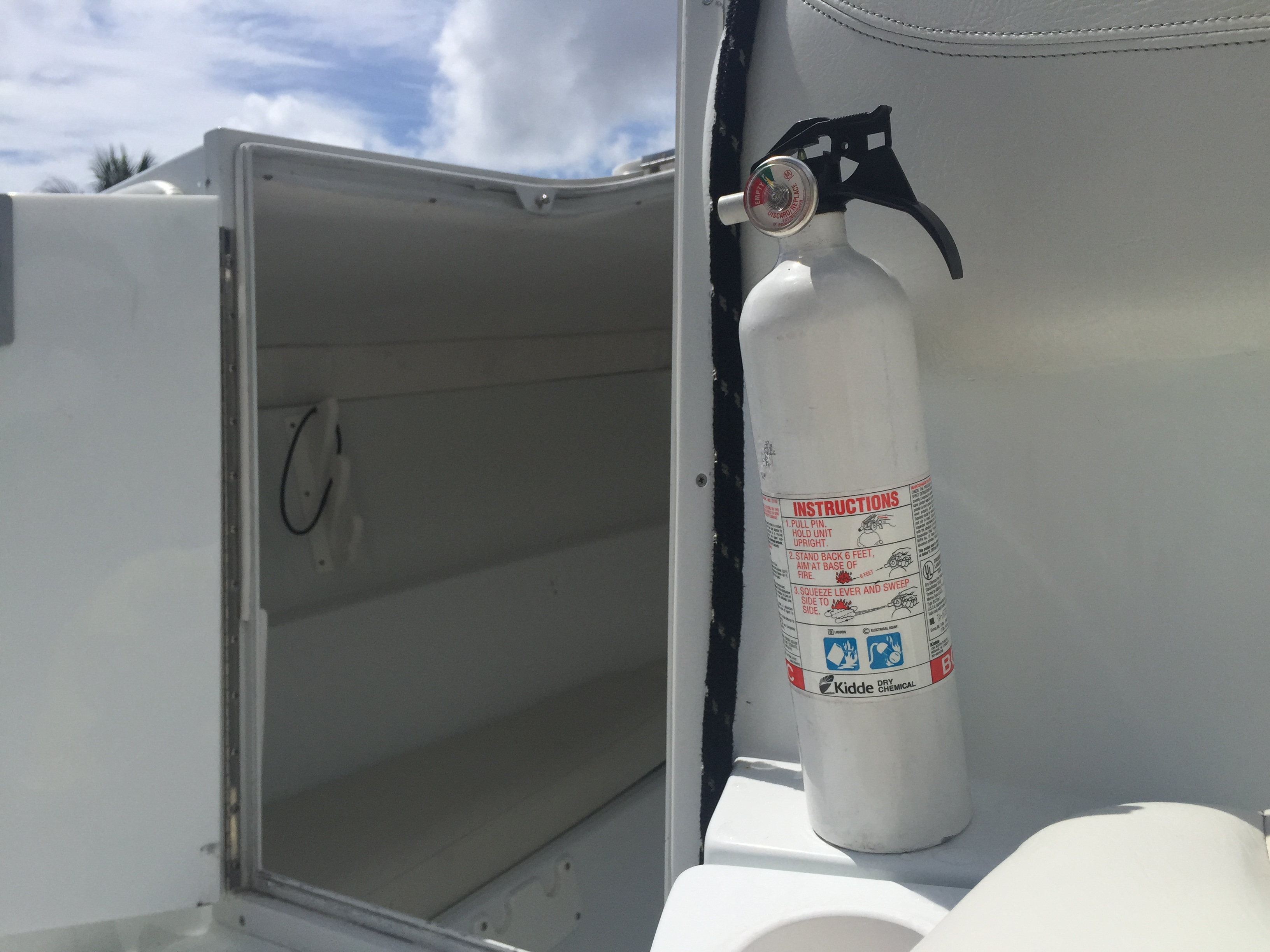 Boat Fire Extinguisher Life