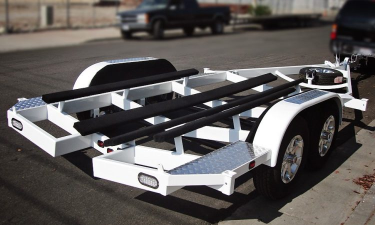 Trailer Powder Coat
