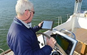 iPad Boating App