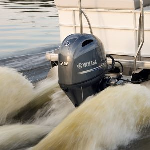 75 hp outboard pontoon boat