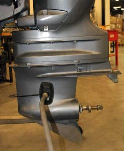 Winterize your outboard