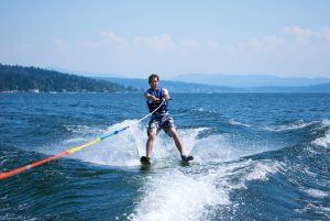 water skiing is a great sport