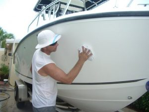 Clean your boat to help sell it faster