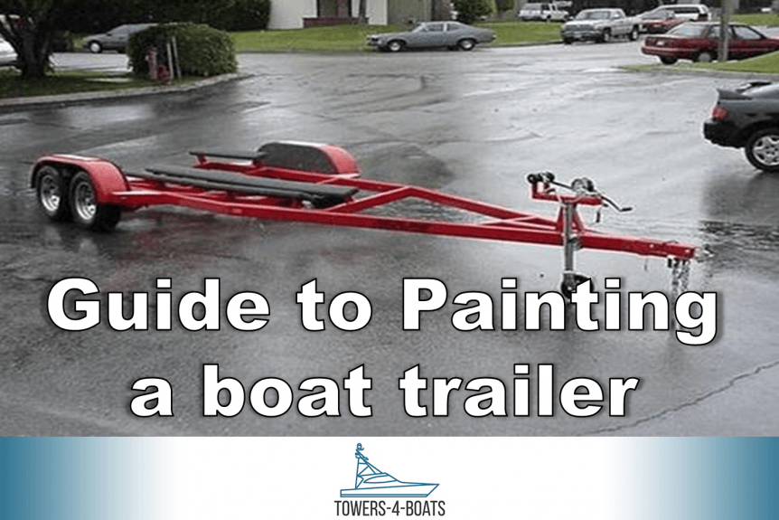 Guide to Painting a boat trailer