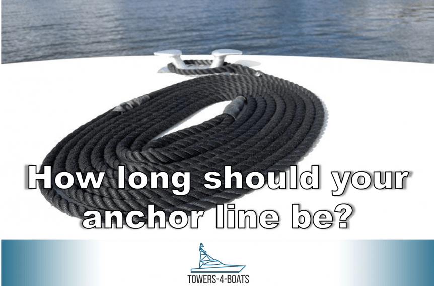 How long should your anchor line be