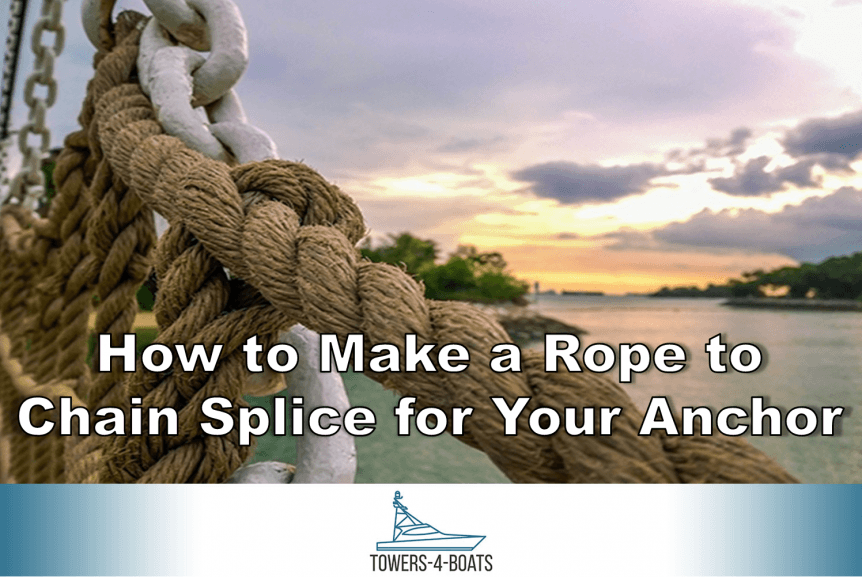 How to Make a Rope to Chain Splice for Your Anchor
