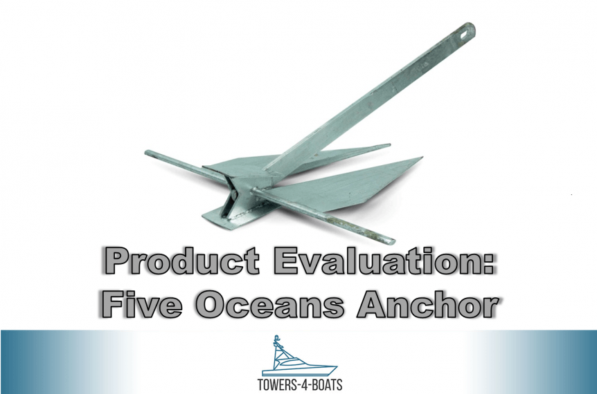 Product Review Five Oceans Hot Dipped Galvanized Traditional Danforth Style Fluke Anchor
