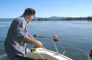 How to anchor your boat