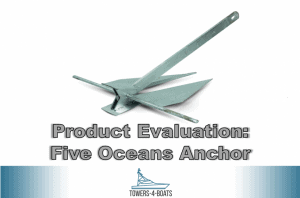 Product Evaluation: Five Oceans Hot Dipped Galvanized Traditional Danforth Style Fluke Anchor