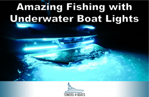 Amazing Fishing with Underwater Boat Lights
